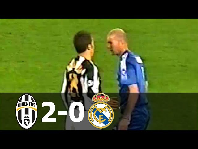 Juventus vs Real Madrid 2-0 (aet) - UCL 2004/2005 (2nd Leg) - Full Highlights