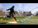 MOST AMAZING CURVE FOOTBALL CHALLENGE