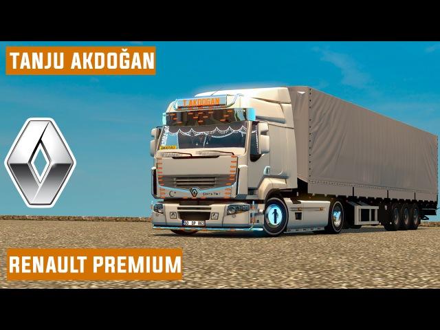 Tanju Akdoğan / Renault Premium Dorse / ETS 2 / Mod Paylaşım !