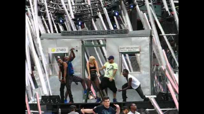 Lady Gaga Rehearses Medley of Love Game and Poker Face - 2009 MuchMusic Video Awards Toronto