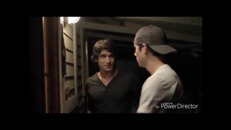 Дилан О'Брайен и Тайлер Пози. Teen Wolf.
