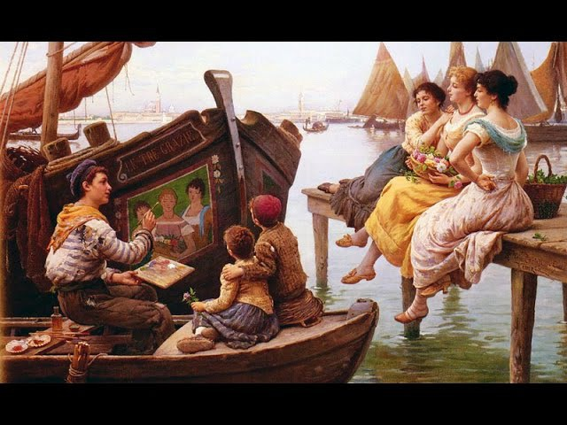 Antonio Ermolao Paoletti 1843 1912 Italian artist ✽ Francis Goya music