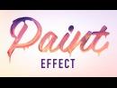 Photoshop урок - эффект капель краски