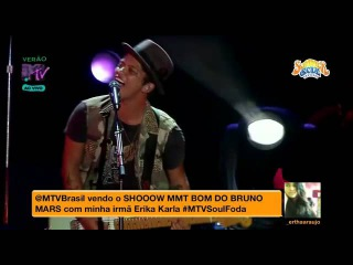 Bruno Mars - Our First Time live in São Paulo (Summer Soul Festival 2012) HD