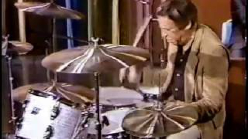 Buddy Rich rare Wind Machine on Johnny Carson Tonight Show 1979 with solo . timeless!! tireless!