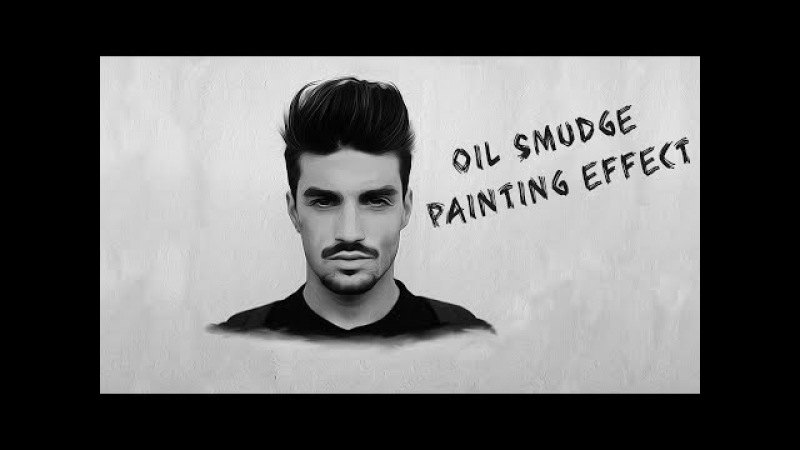How to make an oil smudge painting effect in photoshop tutorial:adobe photoshop cs6