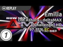 Emilia | DM Ashura - deltaMAX [Challenge] HD 97.55% FC 1 LOVED