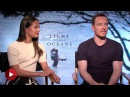 The Light Between Oceans #Chipchat with Alicia Vikander and Michael Fassbender