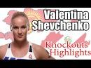 Валентина Шевченко | Valentina Shevchenko KOs KnockOuts Highlights UFC Legacy mma