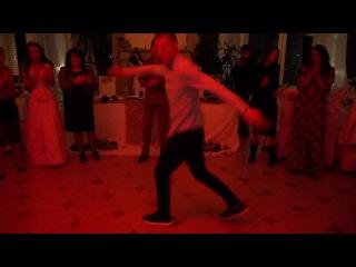 Отжиг жениха на Свадьбе!!!Владимир, мастер танцев!!! Киев, Ирпень, Пуща-Лесная