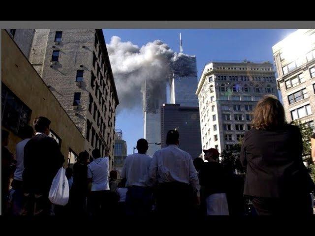 11 сентября 2001. Шокирующие кадры очевидцев