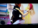 анегдот с куклами барби. с канала Betty puppet