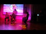 Академия Москва ноябрь 2016 Танцевальный баттл второй круг Дарья Побережниченко и Тоня Володина