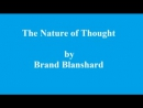 The Nature of Thought Part 53 Volume 2 p162-177