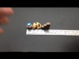 Tiny-S007Cat / Chinese Culture Mini Cat Sleeping Scene Model Resin Miniatures DIY Game Kid Gift