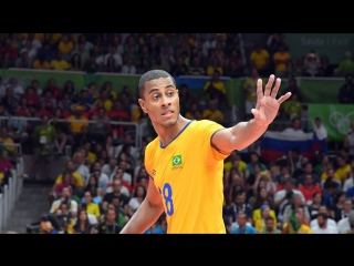Best Volleyball Actions by  Ricardo Lucarelli - World League 2017 - Volleyball Brazil
