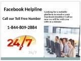 Get Instant Help Facebook Phone Number 1-844-809-2884