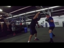 Шабранский / Shabranskyy aka Chingonskyy putting in the work with Coach Manny Robles