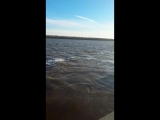 полноводная река Обь