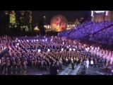 Спасская башня-2016. Сводный оркестр. Дирижер - Валерий Халилов.