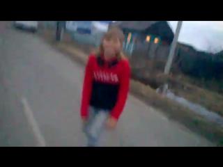Sinul Video - Оля упала в лужу