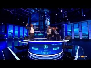 Barcelona vs PSG - BT Sport Studio Crazy Reaction To The Sergi Roberto Goal