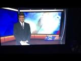 Ведущий не успел дочитать новости