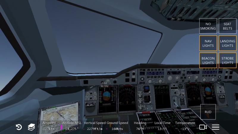 Infinite Flight Airbus A380-800 (2)