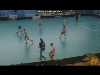 Женщины  России играют  во  Флорбол на  Чемпионате  Мира 2017