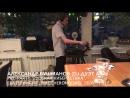 Pre-party «Русская кибернетика» в Maccheroni Ciao, Екатеринбург, 28.07.2017 — Александр Бушманов (DJ-дуэт A A)