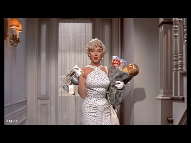 """Marilyn Monroe in """"The 7 Year Itch"""" - """"I Had To Ring Your Bell"""""""