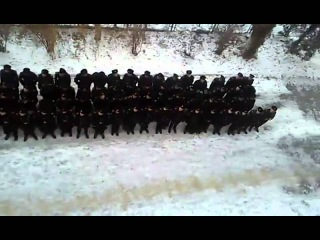 Херсонские курсанты, проучили командира ватника