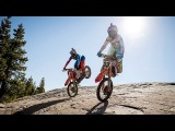 Shredding the Ultimate Hard Enduro Playground at a Classic Tahoe Ski Hill  Donner Partying 2016