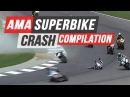AMA Superbike Crash Compilation