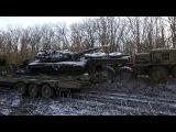 МАЗ 537 8×8 Погрузка танк Т-72