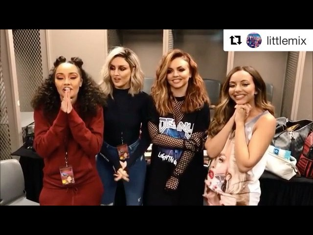 Repost @littlemix ・・・ Well…you lot are just bloody AMAZING aren't you! We've made it to the last week of voting for British Video at the BRIT Awards 😭 We 👏 can 👏 do 👏 this! Hop on twitt