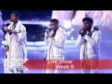 5 After Midnight sleigh with East 17's Stay Another Day Semi-Final The X Factor UK 2016 - YouTube