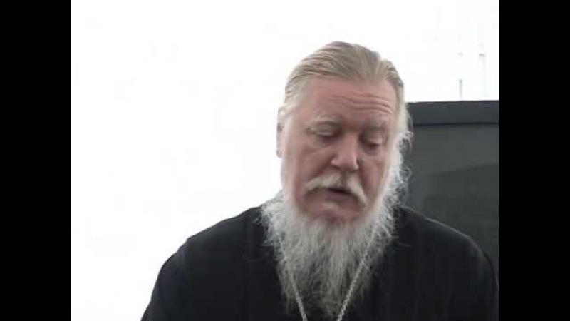 Протоиерей Дмитрий Смирнов О счастье человека (ответы на вопросы прихожан)