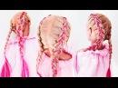 ★ Цветные косы ★ lifehack Чем Заменить КАНЕКАЛОН !!★Dutch Braid With Extensions ★LOZNITSA