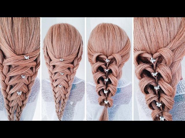 ★НЕОБЫЧНЫЕ ПРИЧЕСКИ★ Греческая коса 2 варианта плетения ★Amazing hairstyles ★LOZNITSA
