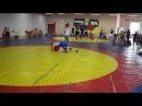 Канцарин Миша (красный угол)- первая схватка - вольная борьба