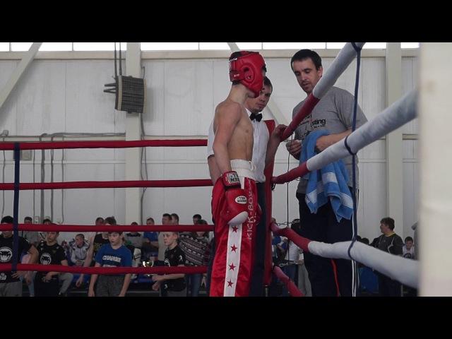 Канцарин Миша (красный угол) - финал Кубок городов Нижегородской области