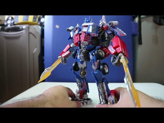 Addendum on MPM04 Optimus Prime - Weapons
