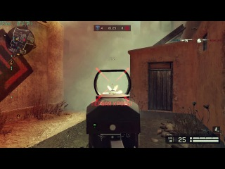 Warface - reaction & random shots in smoke #2