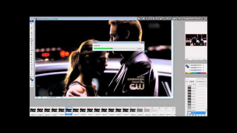 How to make a gif.(anim.) [Sony Vegas Photoshop]