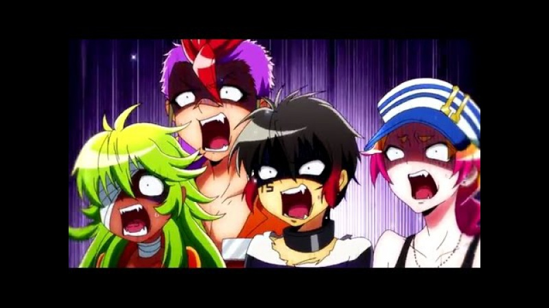 Nanbaka AMV I like it loud