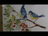 Loose Watercolours ' Feathered Friends' with Andrew Geeson