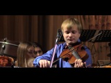 М. Брух. Концерт для скрипки и альта с оркестром, ч. 2