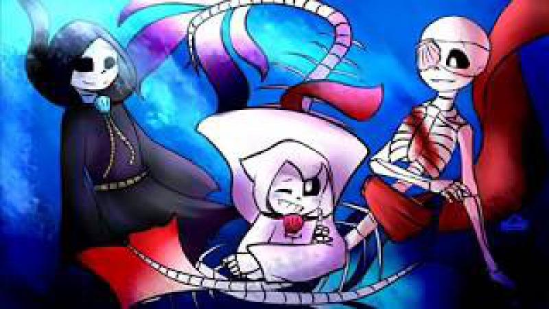Underwater AU|Goth Family SpeedPaint~6