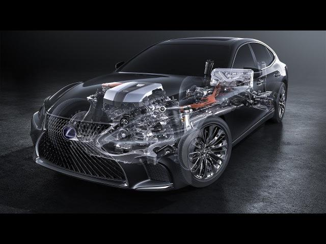 LEXUS LS 500H МНОГОСТУПЕНЧАТЫЙ HYBRID\Geneva Motor Show